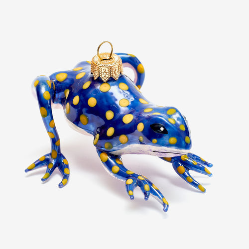 Spotted Frog Ornament