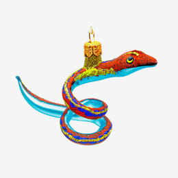 Multicolor Snake Ornament