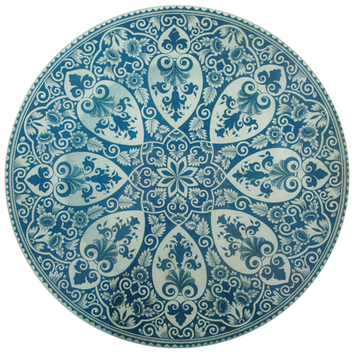 Faience Star Center