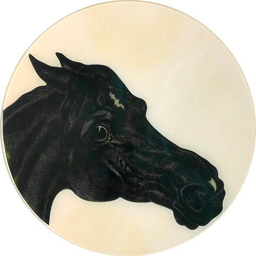 19th c. Horse Drawing