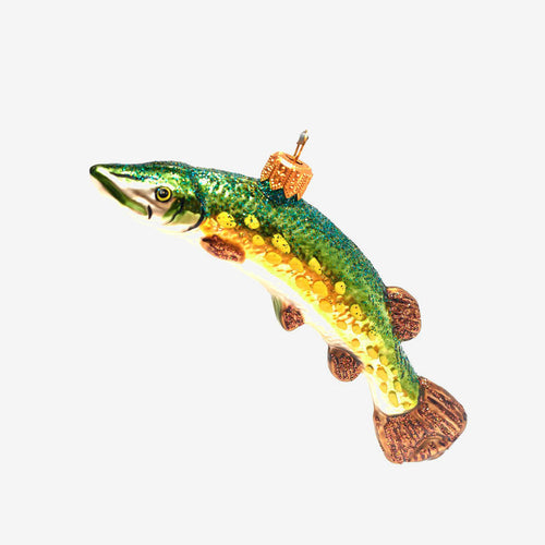 Pike Fish Ornament