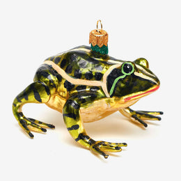 Yellow & Green Frog Ornament
