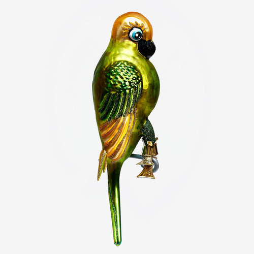 Large Clip-on Parrot Ornament