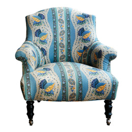 Baronet Chair in Decors Barbares Fabric