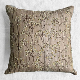 Berries Cushion in Natural