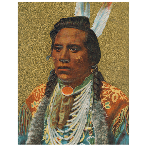 Native American Portrait 8:  Two Feathers (p 225)