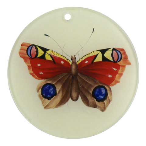 "Painted Butterfly (3"" Round)"