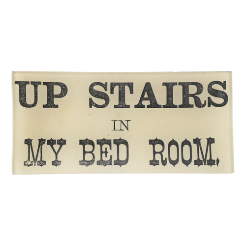Up Stairs In My Bed Room