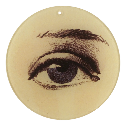 "Blue Right Eye (4"" Round)"