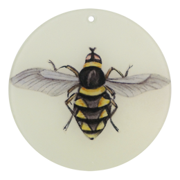 "Diamond Bee (4"" Round)"