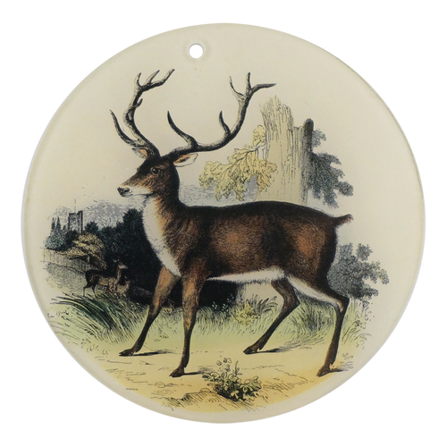 "Red Deer (4"" Round)"