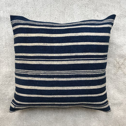 West African Indigo Pillow #4