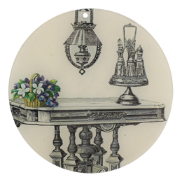 "Dining Table (St Louis) (5"" Round Ornament) - SALE"