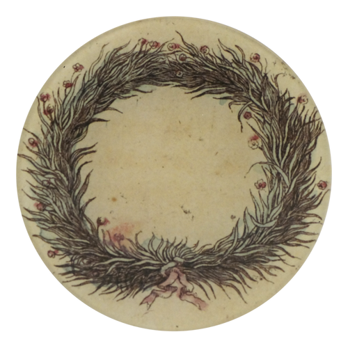 Fig 6 Pink Ribboned Wreath