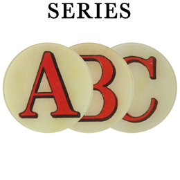 Red Letters (A-Z & !? Available)