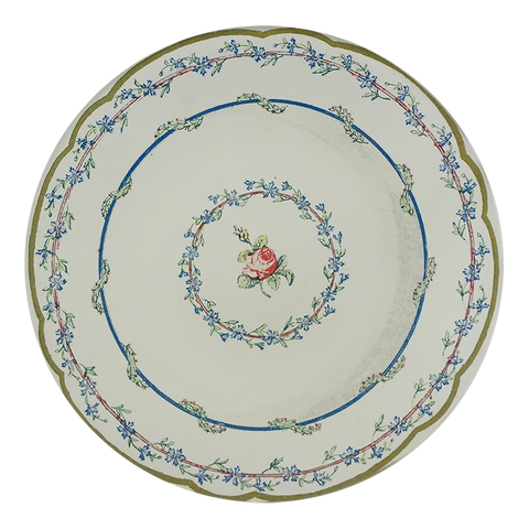 Butter Plate 3 (Single Rose)