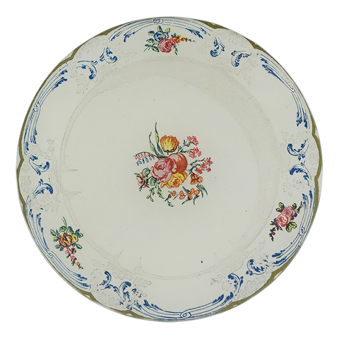 Butter Plate 4 (Rose Cluster)