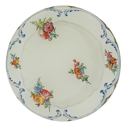 Butter Plate 6 (Varied Bouquets)