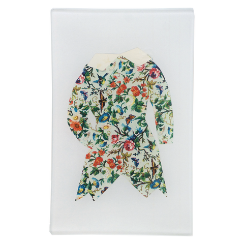 Paper Clothes Floral Jacket