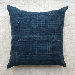 West African Indigo Pillow #5