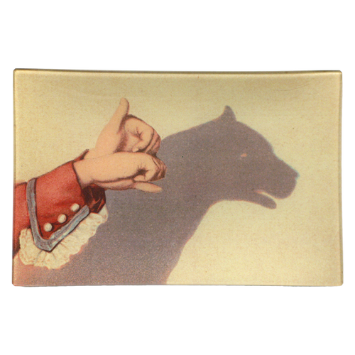Dog Shadow Puppet
