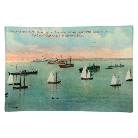Harbor Scene Showing Long Point at the Tip