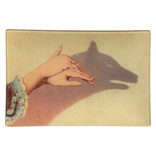 Wolf Shadow Puppet