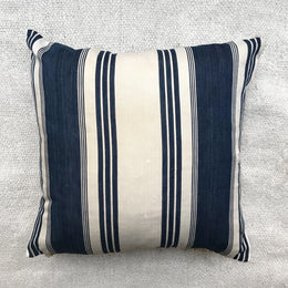 Antique French Ticking Pillow #6