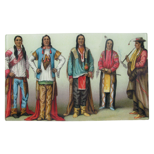 Native Americans Standing