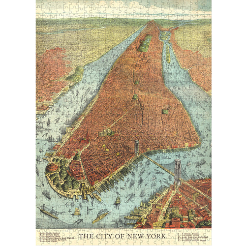 The City of New York 750-Piece Puzzle