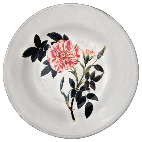 May Rose Soup Plate