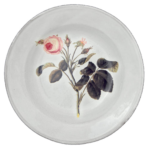 Rose Soup Plate