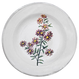 Carolina Star Flower Soup Plate