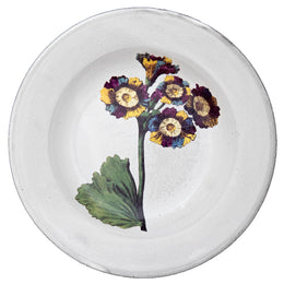 Lord Willoughbys Auricula Soup Plate