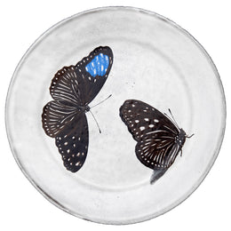 Flying-Landed Butterfly Plate
