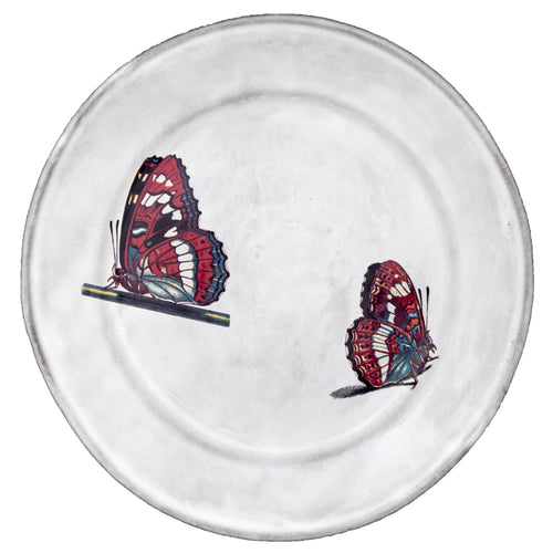 Two Landed Butterfly Plate