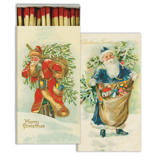 A Merry Christmas four inch matchbox with fifty sticks