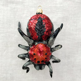 Black & Red Spider Ornament