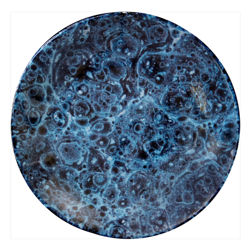 Blue Marble Saucer