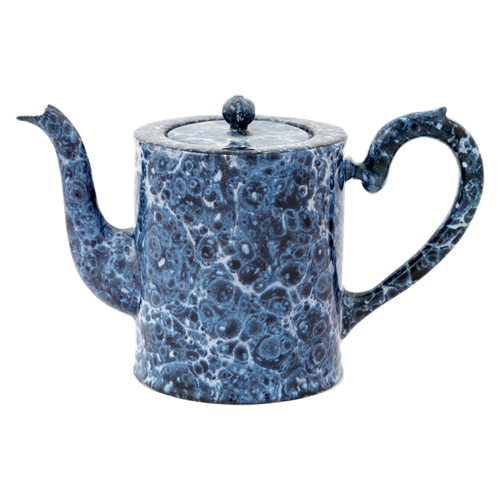 Blue Marble Teapot- Small
