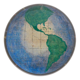 North & South Globe