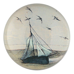 Ship with Gulls