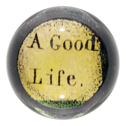 A Good Life (Fruits of the Tree of Temperance)