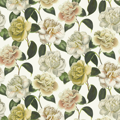 Camella Folly Parchment Fabric