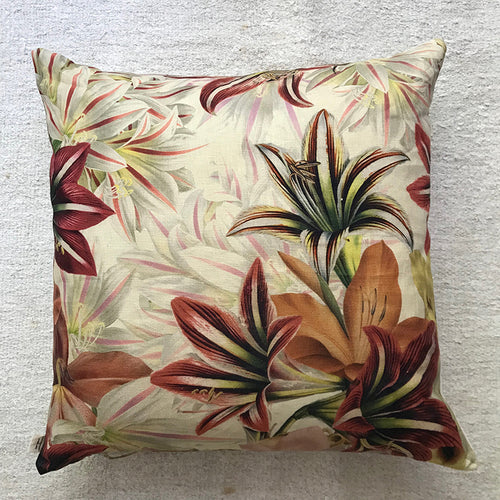 Amaryllis Pillow