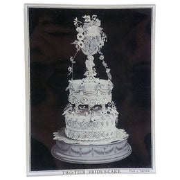 Two-Tier Bride's Cake - 4