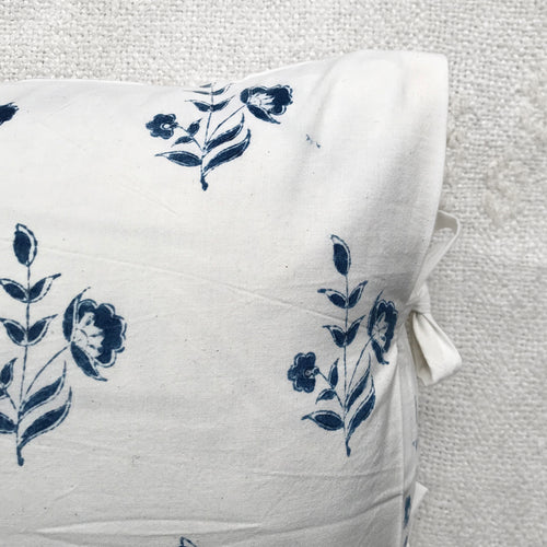Gabrielle Pillow in Indigo