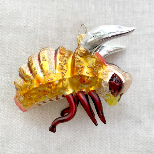 Gold Bumblebee Ornament