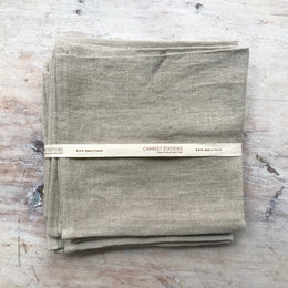 Linen Napkins in Gypse