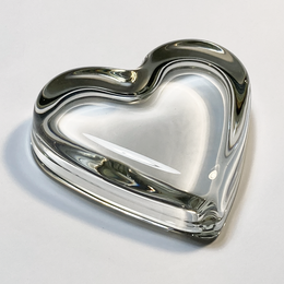 Heart Paperweight with Recess - Final Sale